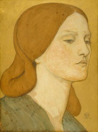 Elizabeth Siddal, by Rossetti