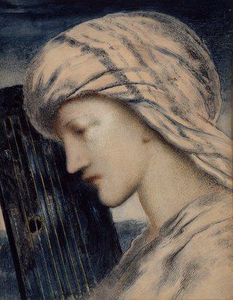 David, by Simeon Solomon