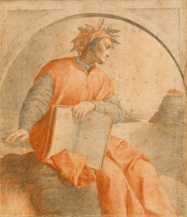 Portrait of Dante, after Vasari, by Carlo Dolci