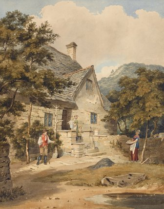 Tintern, Monmouthshire, by George Samuel