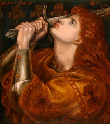 Joan of Arc, by Rossetti