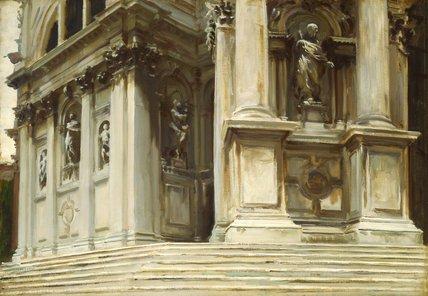Santa Maria della Salute, Venice, by Sargent