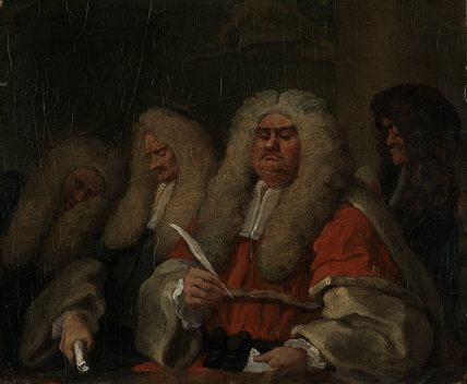 The Bench, by William Hogarth