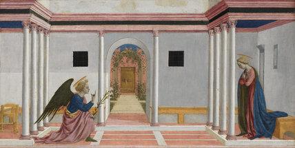 The Annunciation, by Domenico Veneziano