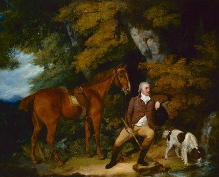 Benjamin Bond Hopkins, by Francis Wheatley