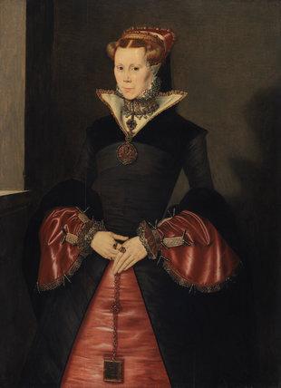 Unknown Lady (perhaps Lady Jane Grey), by Hans Ewouts