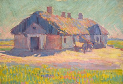 The Polish Tavern, by Robert Bevan