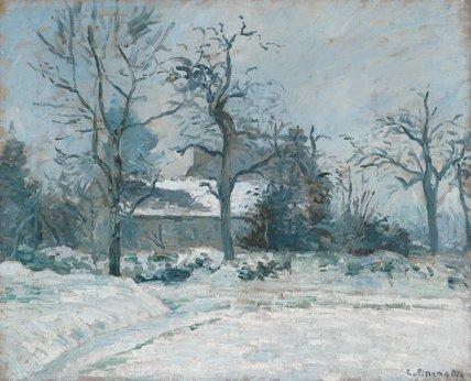 La Maison de la Piette, by Pissarro