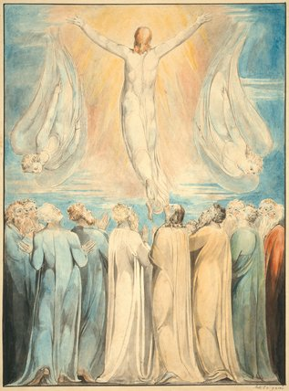 The Ascension, by William Blake