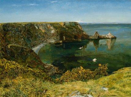 Anstey S Cove Devon By John William Inchbold By Inchbold