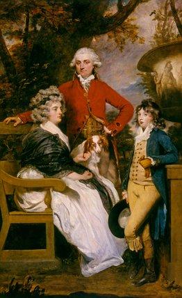 The Braddyll Family, by Sir Joshua Reynolds