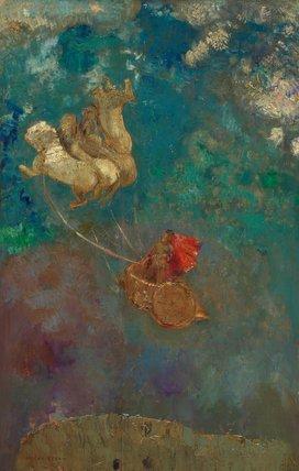 Le char d' Apollon, by Odilon Redon