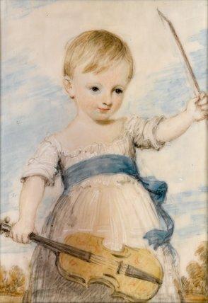 Master George Henry Arnold, by Henry Edridge