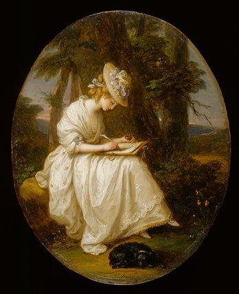Louisa Hammond, by Angelica Kauffmann
