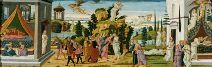 The Story of Cupid and Psyche, by Jacopo del Sellaio