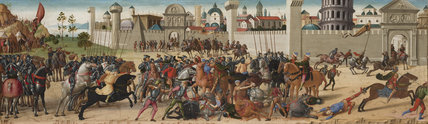 The Siege of Troy: The Death of Hector, by Biagio d'Antonio