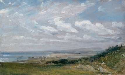 Shoreham Bay, near Brighton, by Constable