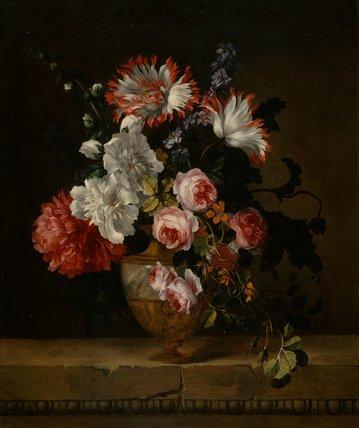 A vase of flowers, by Gerard van Spaendonck