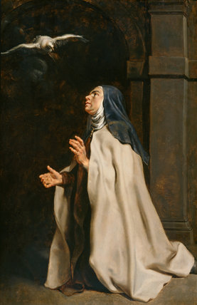 Teresa of Avila's Vision of the Dove, by Rubens
