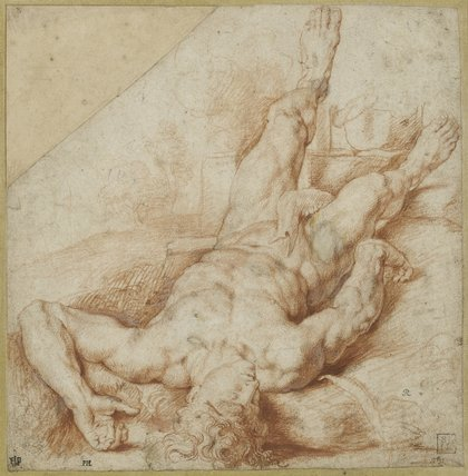 Abel slain by Cain, by Rubens