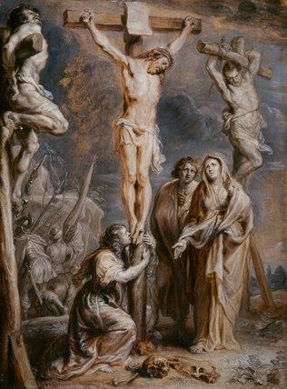 The Crucifixion, by Abraham Jansz van Diepenbeeck
