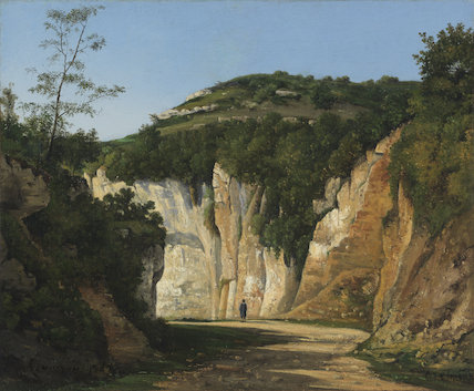 Near Cremieu, by Henri-Joseph Harpignies