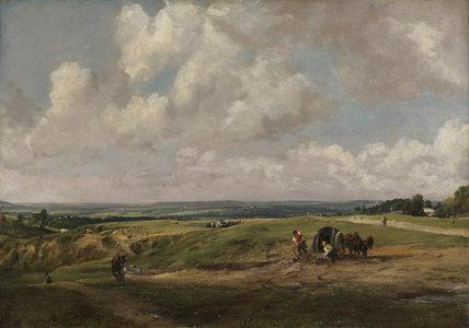Hampstead Heath, by Constable