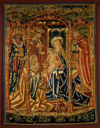 The Adoration of the Magi, Flemish Tapestry