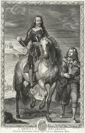 Charles I, by Pierre Lombart