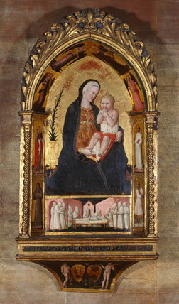 The Virgin of Humility, by Paolo Schiavo