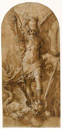 St Michael, by Giovanni Giacomo Pandolfi