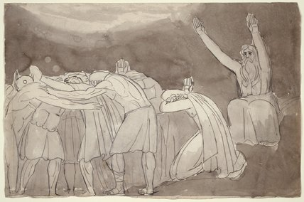 A Druid Ceremony, by William Blake