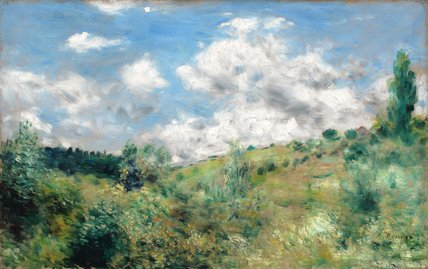 The Gust of Wind, by Renoir
