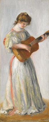 La Musique By Renoir By Renoir Pierre Auguste At