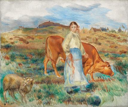 Le retour des champs, by Renoir