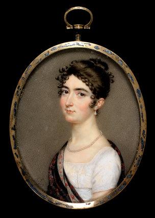 Miss Mary Tadman, by John Smart