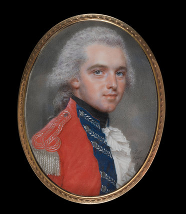 Major Sir Alexander Allan, by John Smart