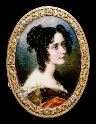 Georgiana Carolina, by Simon Jacques Rochard