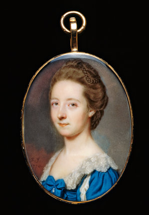 Portrait of an Unknown Lady, by John Smart