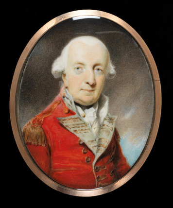 General George Morrison, by Henry Edridge