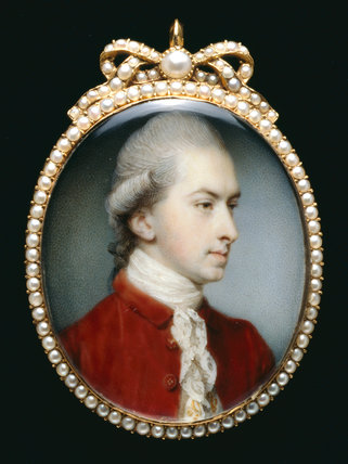 Sir Thomas Frankland, by Jeremias Mayer