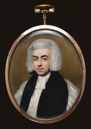Samuel Hallifax, Bishop of Gloucester, by Henry Edridge