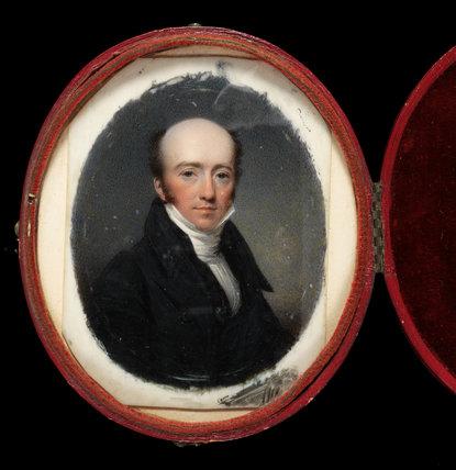 The Rev. John Clay, by Thomas Hargreaves
