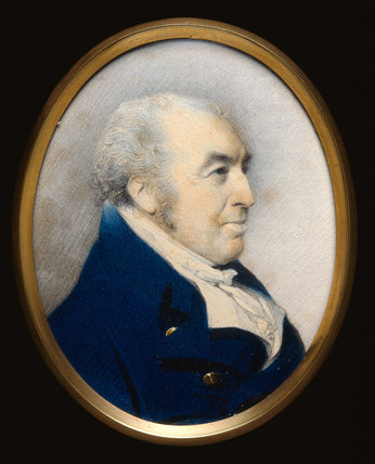 William Hayley, by George Engleheart