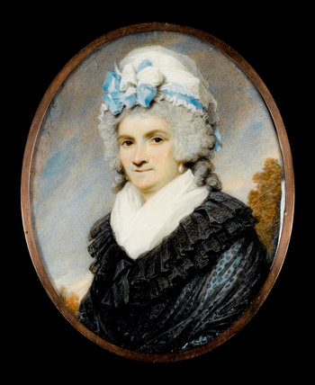 Mrs George Morrison, by Henry Edridge