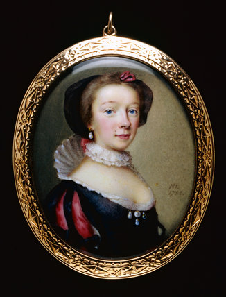 Portrait of an Unknown Lady, by Nathaniel Hone