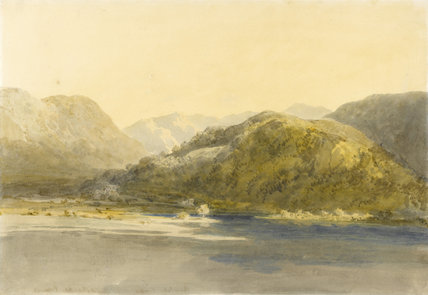 Ullswater, with Patterdale Old Hall, by Turner
