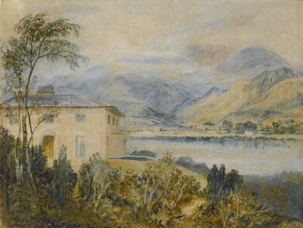 Coniston Water with Tent Lodge, by Turner