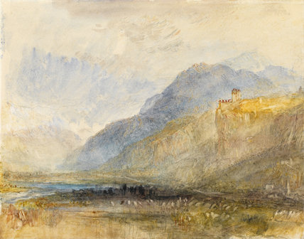 Alpine Landscape, by Turner