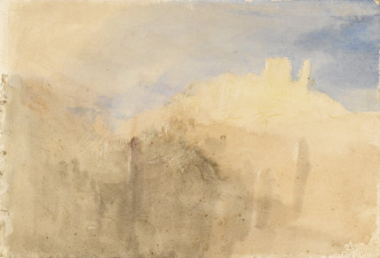 The Yellow Castle', Beilstein on the Moselle, by Turner